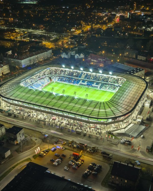 Stadium in Bielsko - completed investments of BPBP S.A.